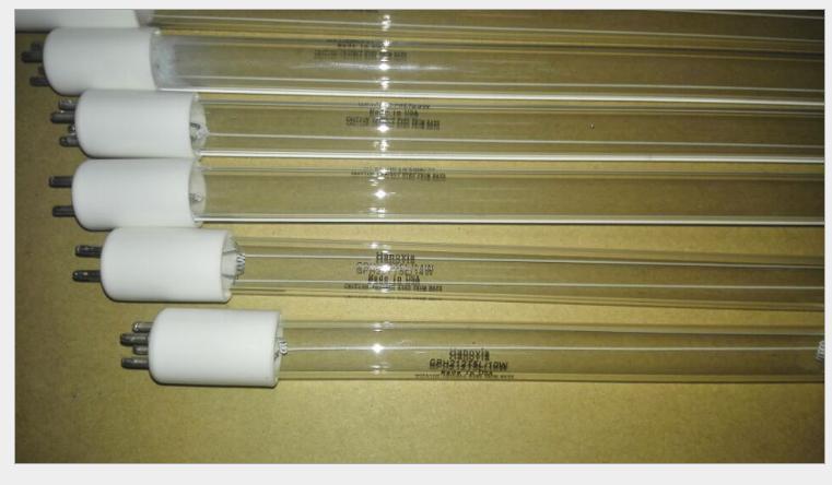 美国海诺威紫外线杀菌灯管