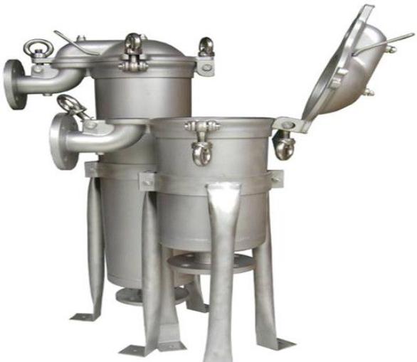 制药不锈钢袋式过滤器过滤系统工作原理