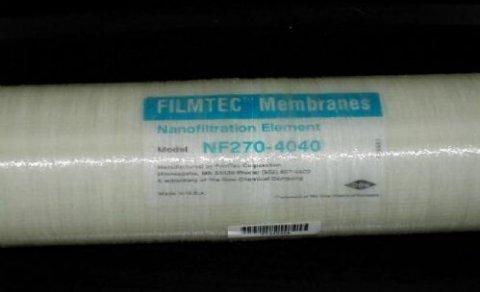 美国陶氏纳滤膜NF270-40